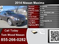 Call Tom Lumber Nissan at  Stock #: N18605A Year: 2014