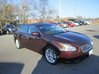 Exterior Color: burgundy, Body: Sedan, Engine: 3.5L V6