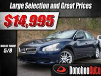 Check out this 2014 Nissan Maxima 3.5 S before someone