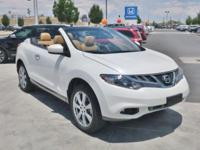 2014 Nissan Murano CrossCabriolet Pearl White AWD