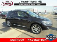 Sturdy and dependable, this Used 2014 Nissan Murano S