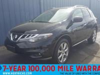 This outstanding example of a 2014 Nissan Murano LE is
