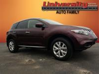 2014 Nissan Murano S FWD CVT with Xtronic midnight