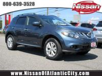 Check out this certified 2014 Nissan Murano SL. Its