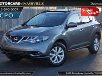This 2014 Nissan Murano 4dr AWD 4dr SL features a 3.5L