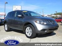 Gray 2014 Nissan Murano S FWD CVT with Xtronic 3.5L V6