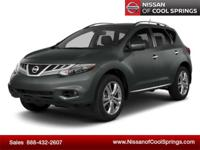NEW ARRIVAL - PICTURES COMING SOON! This 2014 Murano is