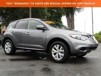 New Price! CARFAX One-Owner.2014 Nissan Murano SL 3.5L