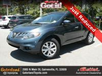 New Price! Clean CARFAX. Gray 2014 Nissan Murano SV FWD
