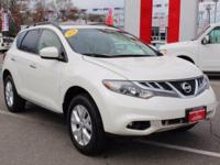 This Nissan Certified 2014 Nissan Murano SV is a New