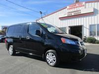 Options:  2014 Nissan Nv200 Sv|2L I4 16V|Continuously