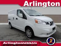 Options:  2014 Nissan Nv200 Sv|White|Clean Carfax And
