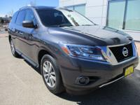 Here is a 1-owner 2014 Nissan Pathfinder! With room for