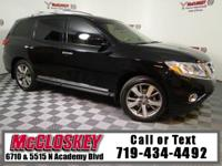Immaculate 2014 Nissan Pathfinder Platinum offering
