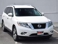 CARFAX One-Owner. Moonlight White 2014 Nissan