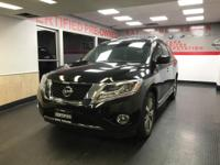 CARFAX One-Owner. Clean CARFAX. Black 2014 Nissan