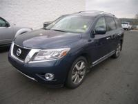 This 2014 Nissan Pathfinder Platinum is offered to you