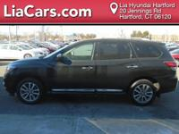 2014 Nissan Pathfinder in Black. 4WD. Isn't it time for