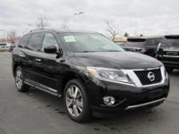Take command of the road in the 2014 Nissan Pathfinder!