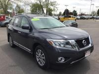 CARFAX One-Owner. Certified. Dark Slate 2014 Nissan
