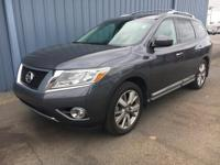 You can find this 2014 Nissan Pathfinder Platinum and
