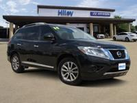 Lots of extras, super black used 2014 Nissan Pathfinder