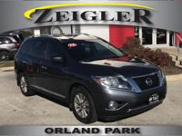 Options:  2014 Nissan Pathfinder Sl|Gray|4Wd|Abs