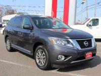 This Nissan Certified 2014 Nissan Pathfinder SL is