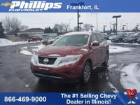 New Price! Cayenne Red 2014 Nissan Pathfinder SV 4WD