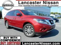 Our One Owner 2014 Nissan Pathfinder SV 4x4 in Cayenne