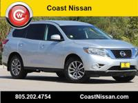 Brilliant Silver 2014 Nissan Pathfinder SV FWD CVT with