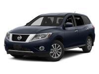 Options:  2014 Nissan Pathfinder Sv Black/ V6 3.5 L
