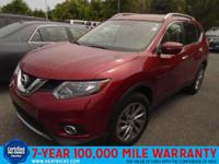 This outstanding example of a 2014 Nissan Rogue SL is