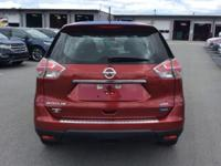 New Price! 2014 Nissan Rogue S Cayenne Red CARFAX