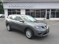 CARFAX One-Owner. Clean CARFAX. Gray 2014 Nissan Rogue