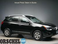 2014 Nissan Rogue Select S BlackCARFAX One-Owner.