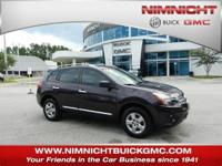 Clean CARFAX. Purple 2014 Nissan Rogue Select S FWD CVT