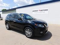 32/25 Highway/City MPG 2014 Nissan Rogue SL CVT with