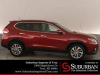 Certified. CARFAX One-Owner. 2014 Nissan Rogue SL,