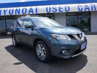 Recent Arrival! 2014 Nissan Rogue Blue New Price! AWD.