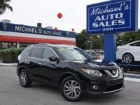 Options:  2014 Nissan Rogue Sl|Black|Apr As Low As