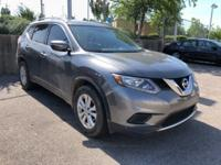Gun Metallic 2014 Nissan Rogue SV FWD CVT with Xtronic