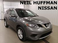 New Price! Gun Metallic 2014 Nissan Rogue SV FWD CVT