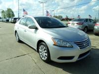 This outstanding example of a 2014 Nissan Sentra SV is