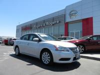 CARFAX One-Owner. Brilliant Silver 2014 Nissan Sentra