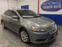 This 2014 Nissan Sentra 4dr S features a 1.8L 4