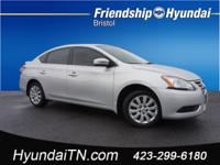 CARFAX One-Owner. Brilliant Silver 2014 Nissan Sentra S
