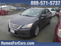 Checkout this Humes 2014 Amethyst Gray Nissan Sentra S