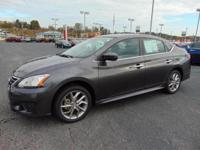 Our amazing, Carfax One Owner, 2014 Nissan Sentra SR is