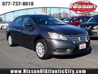 Come see this 2014 Nissan Sentra S. Its Variable